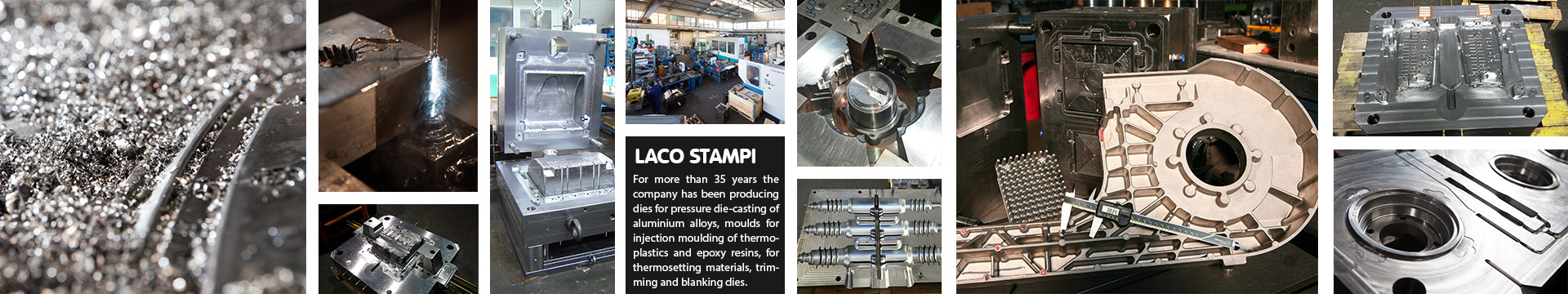 Laco Stampi | Dies for pressure die-casting, moulds for epoxy resins and thermoplastics | Bergamo